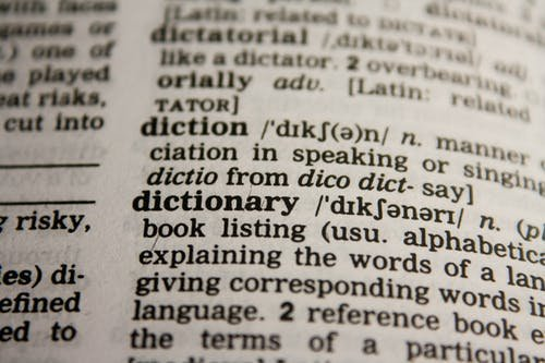 Dictionary of Web design technical terms and Jargon
