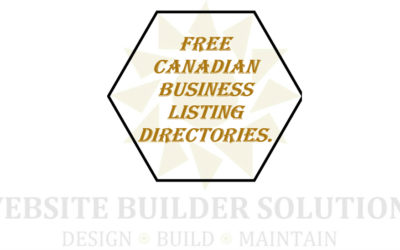 Canadian Business Listing Directories