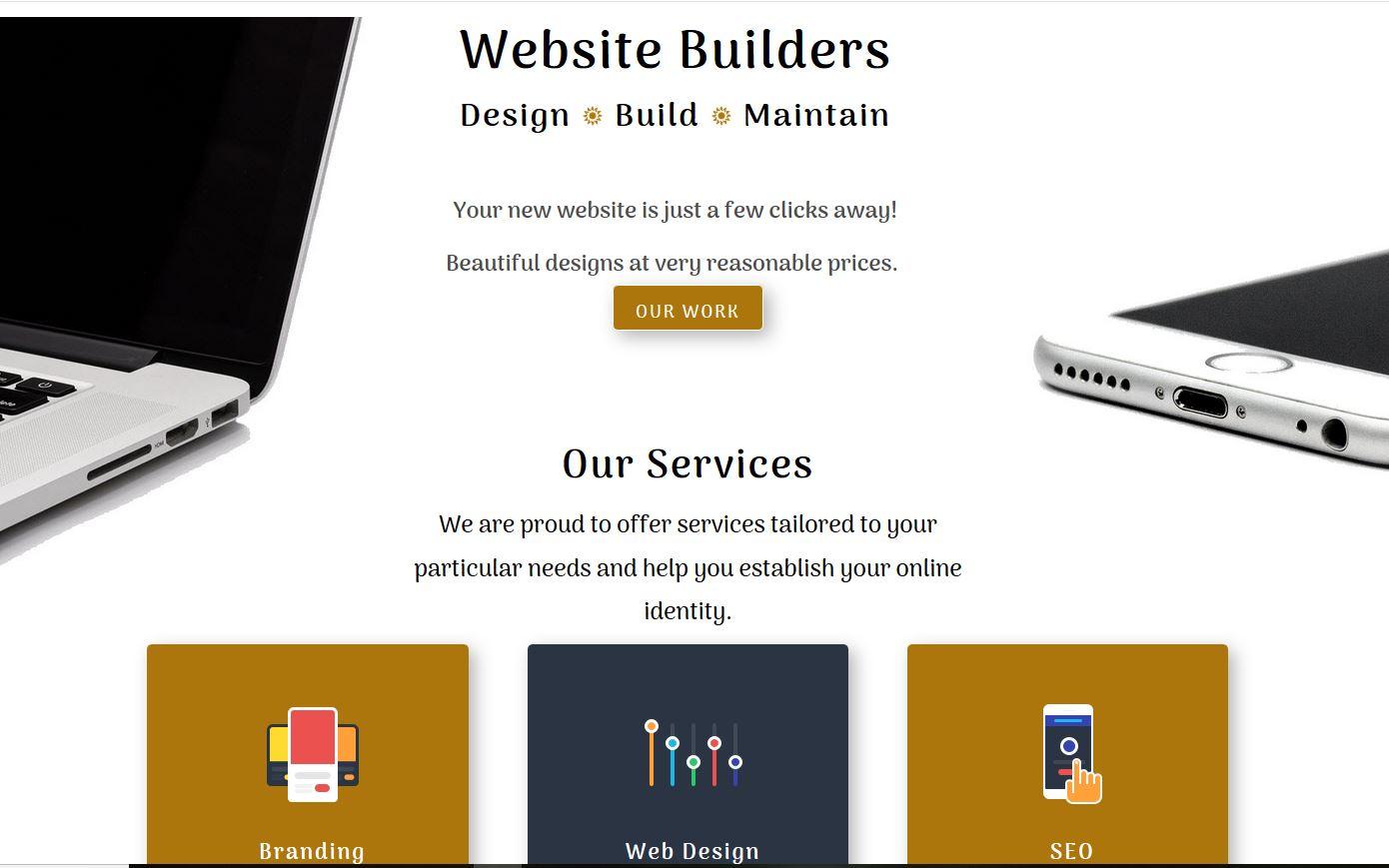 the best website builder in oakville website-builders.ca